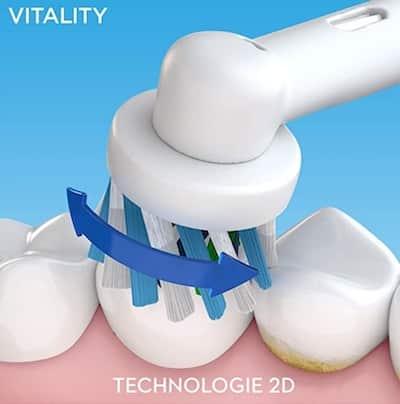 Promo brosse à dents electrique