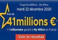 Resultat Euromillion 22 décembre 2020