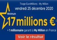 Resultat Euromillion 25 décembre 2020
