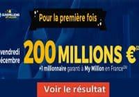 Résultat Euromillion 4 decembre 2020 mega jackpot et gains