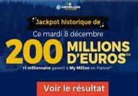 Résultat Euromillion 8 decembre 2020 mega jackpot et gains