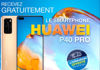 Huawei P40 Pro jeu concours gratuit