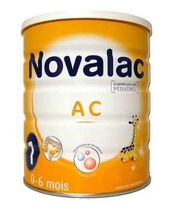 lait calinova anti colique