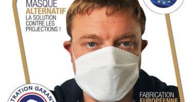 Masque Tissu Homologue UNS1