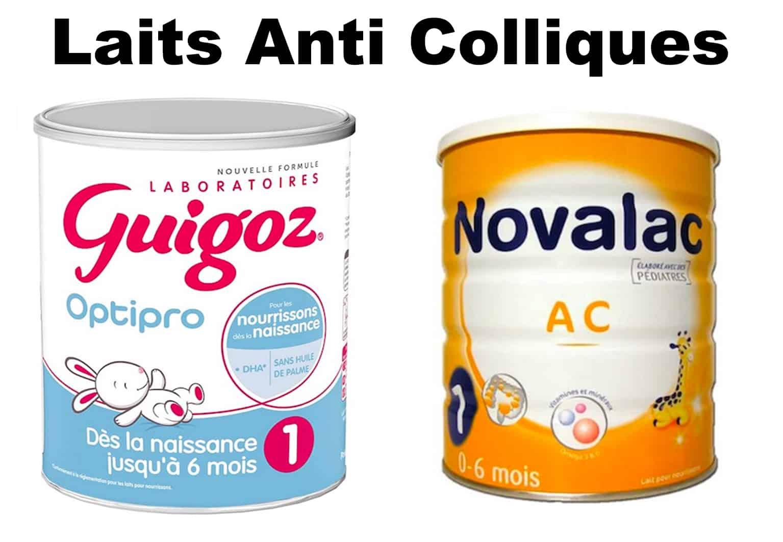 meilleur lait anti collique