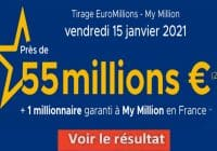 Resultat Euromillion 15 Janvier 2021