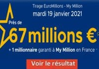 Resultat Euromillion 19 Janvier 2021