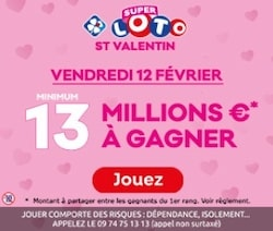 Fdj Jackpot Saint Valentin