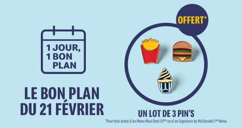 mcdo Bon plan