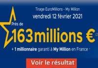 Resultat Euromillion 12 Février 2021