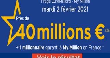 Resultat Euromillion 2 Février 2020