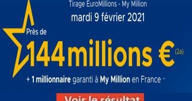 Resultat Euromillion 9 Février 2021