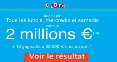 Resultat LOTO 13 Février 2021 Joker+ et codes loto gagnant
