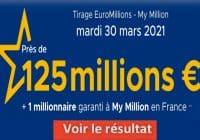 Resultat Euromillion 30 Mars 2021