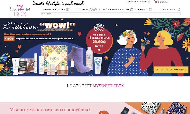 Code promo My Sweetie Box