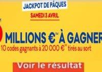 Resultat LOTO 2 avril 2021 joker+ et codes loto gagnant