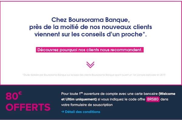 Bonus Boursorama