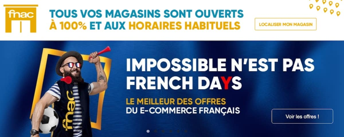 Code promo French Days FNAC