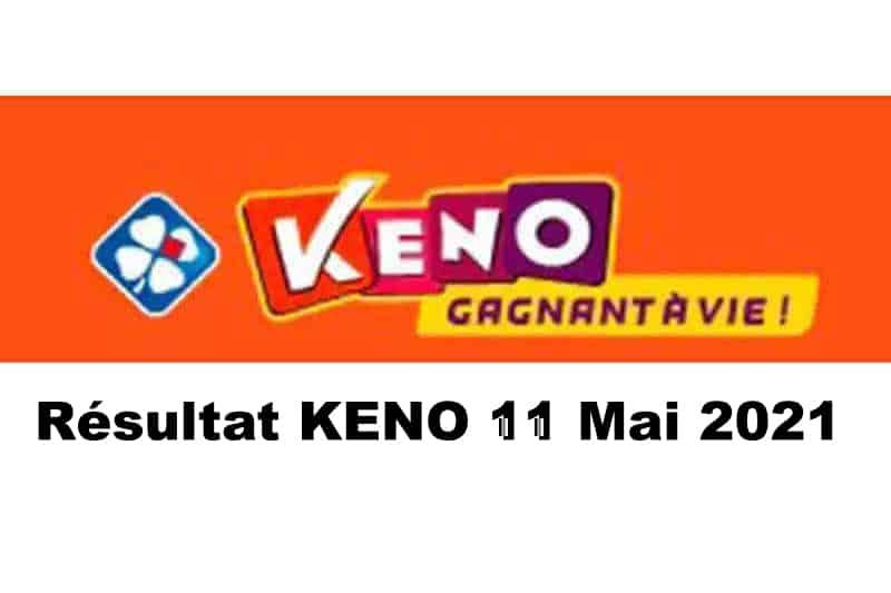 Resultat keno 11 mai 2021 tirage midi et soir