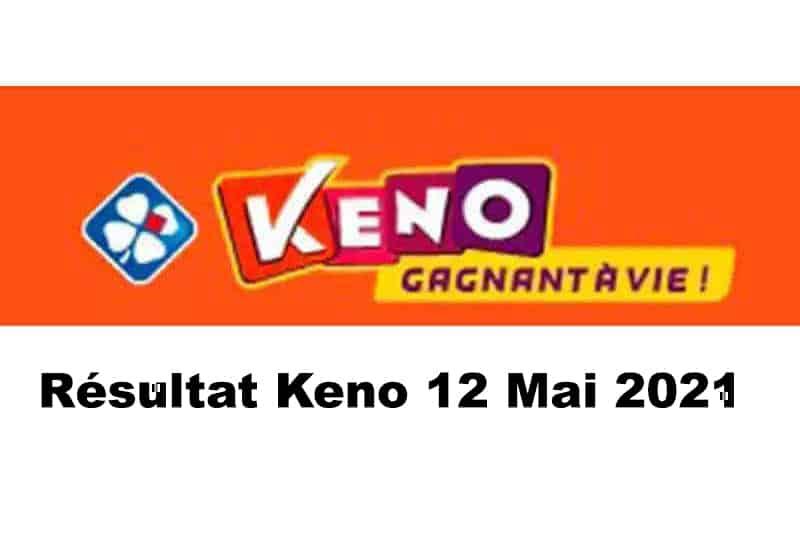 Resultat keno 12 mai 2021 tirage midi et soir