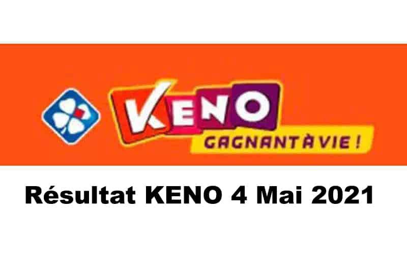 Resultat KENO 4 Mai 2021 Tirage midi et soir