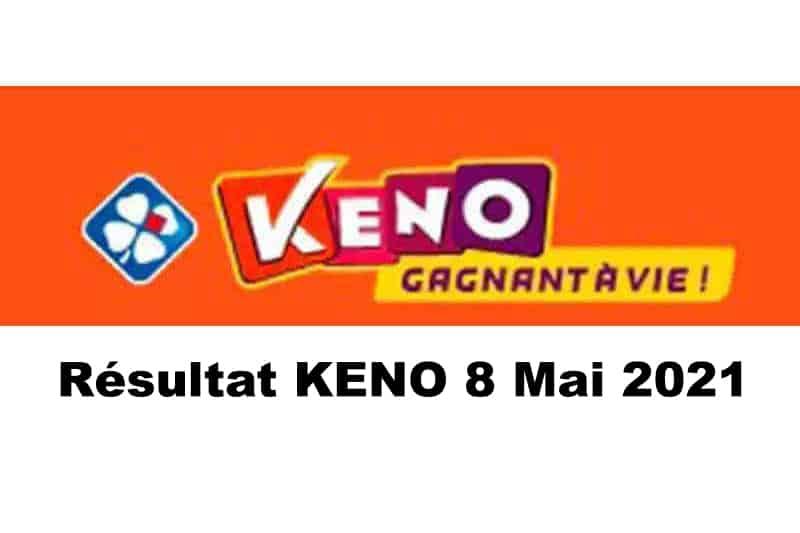 Resultat keno 8 mai 2021 tirage midi et soir