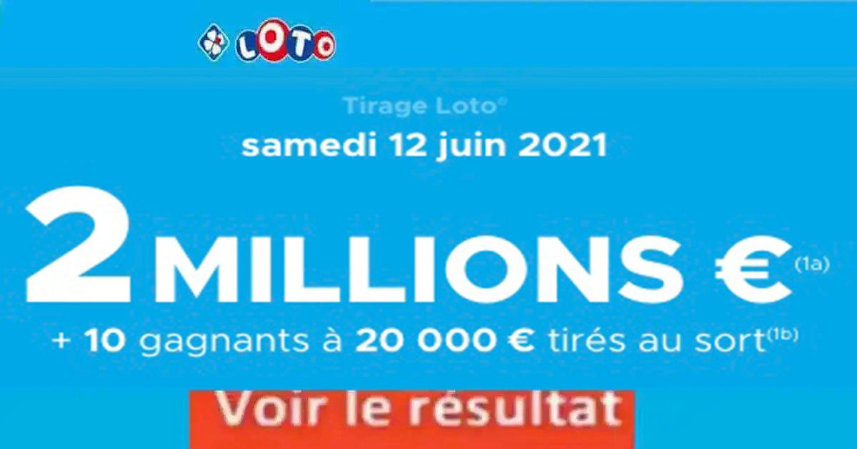 Resultat LOTO 12 Juin 2021 Joker+ et codes loto gagnant