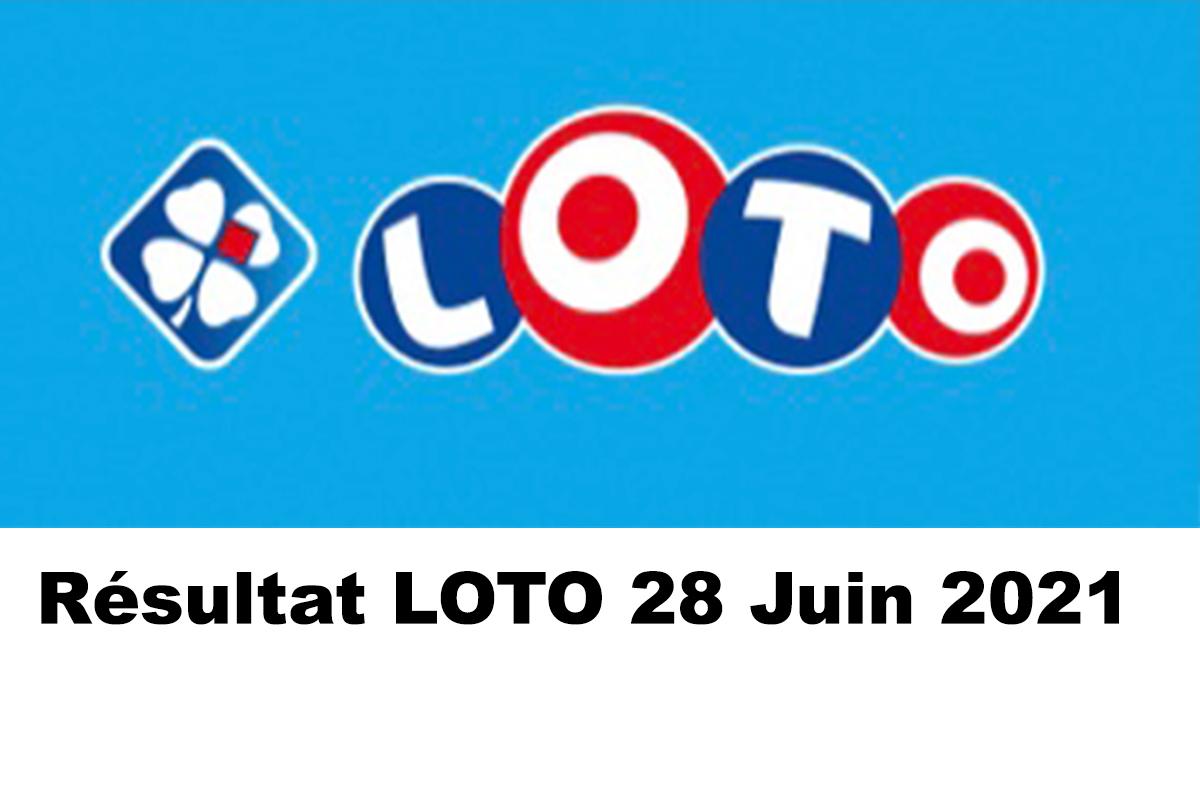 Resultat LOTO 28 juin 2021 joker+ et codes loto gagnant