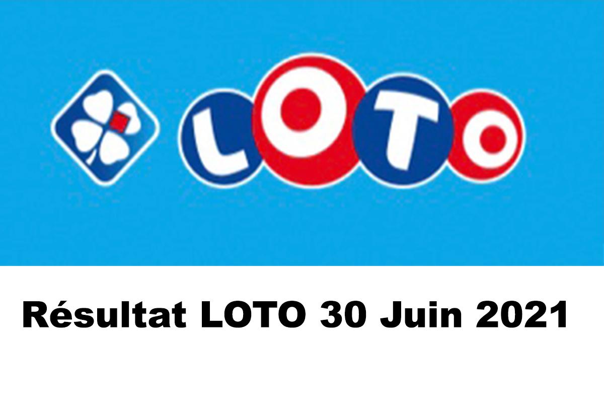 Resultat LOTO 30 juin 2021 joker+ et codes loto gagnant