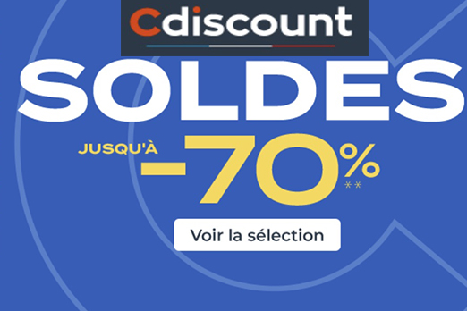 Code promo Cdiscount soldes 2021