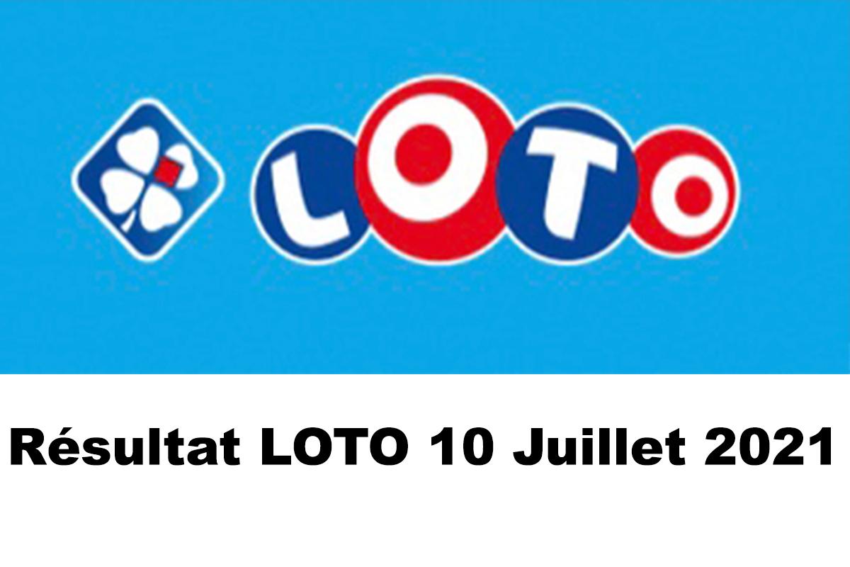 Resultat LOTO 10 juillet 2021 joker+ et codes loto gagnant