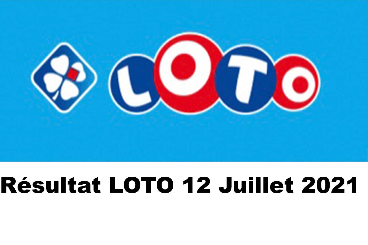 Resultat LOTO 12 juillet 2021 joker+ et codes loto gagnant