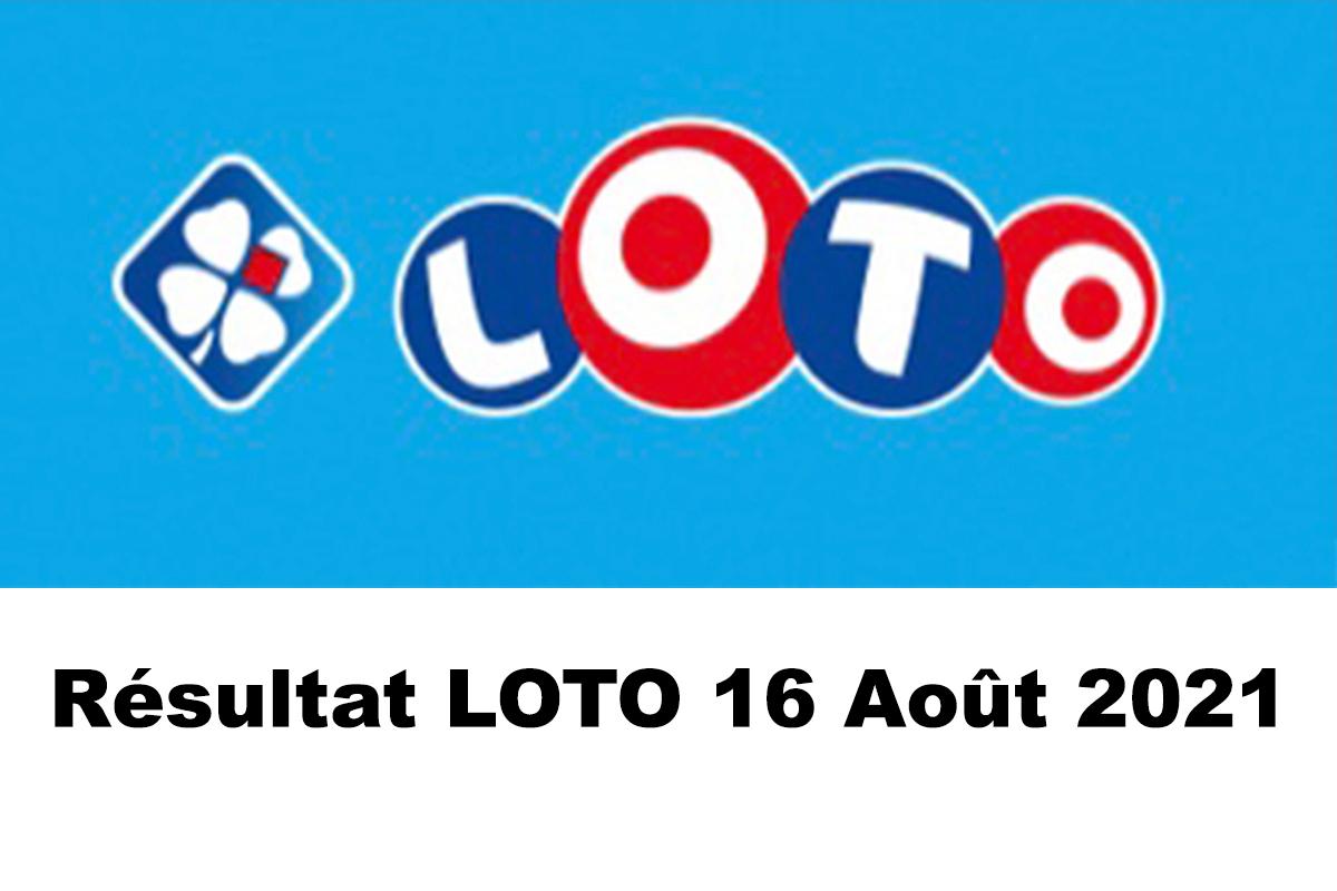 Resultat LOTO 16 Aout 2021 joker+ et codes loto gagnant