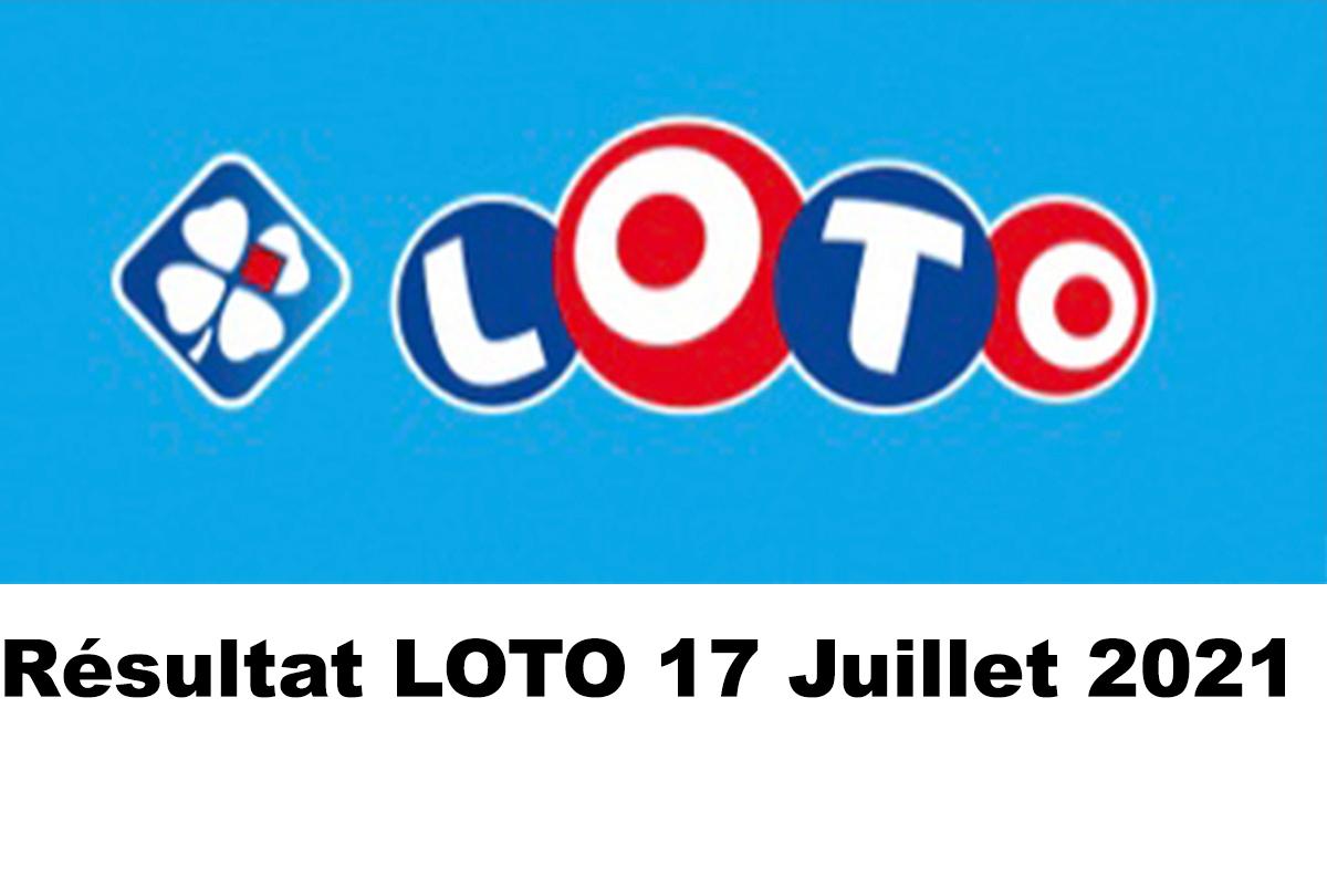 Resultat LOTO 17 juillet 2021 joker+ et codes loto gagnant