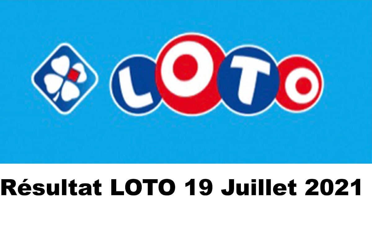 Resultat LOTO 19 juillet 2021 joker+ et codes loto gagnant