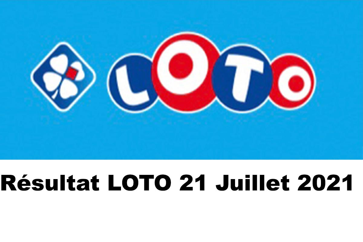 Resultat LOTO 21 juillet 2021 joker+ et codes loto gagnant