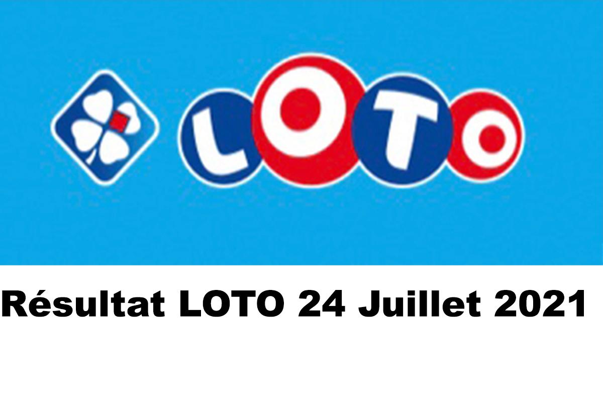 Resultat LOTO 24 juillet 2021 joker+ et codes loto gagnant