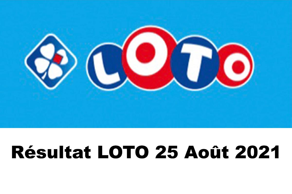 Resultat LOTO 25 Aout 2021 joker+ et codes loto gagnant