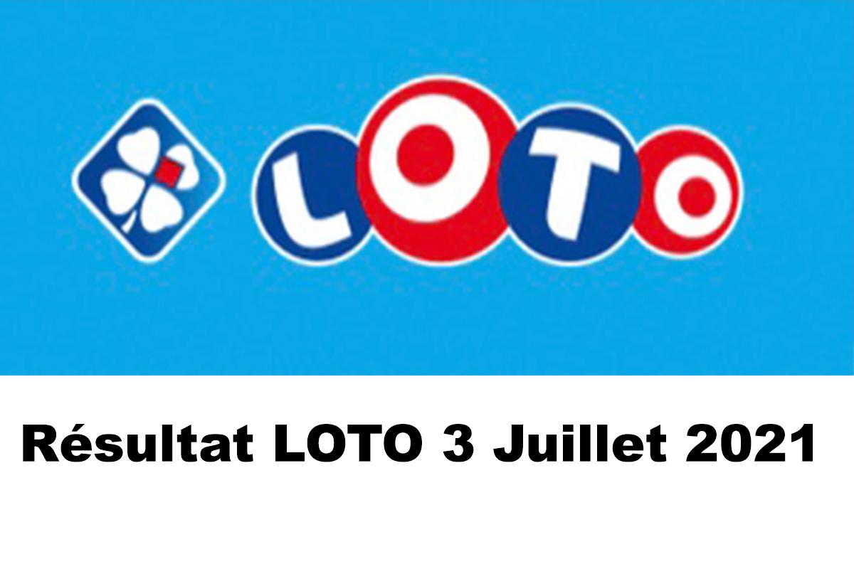 Resultat LOTO 3 juillet 2021 joker+ et codes loto gagnant