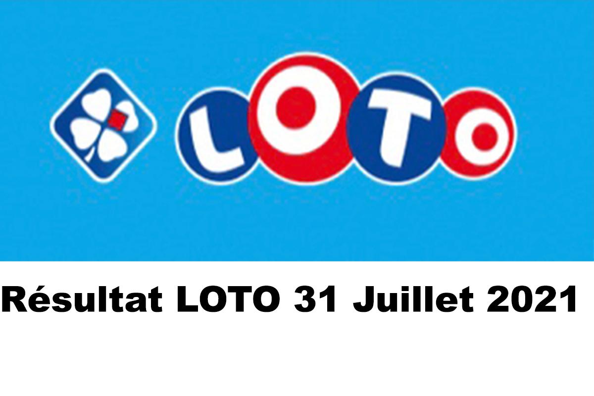 Resultat LOTO 31 juillet 2021 joker+ et codes loto gagnant