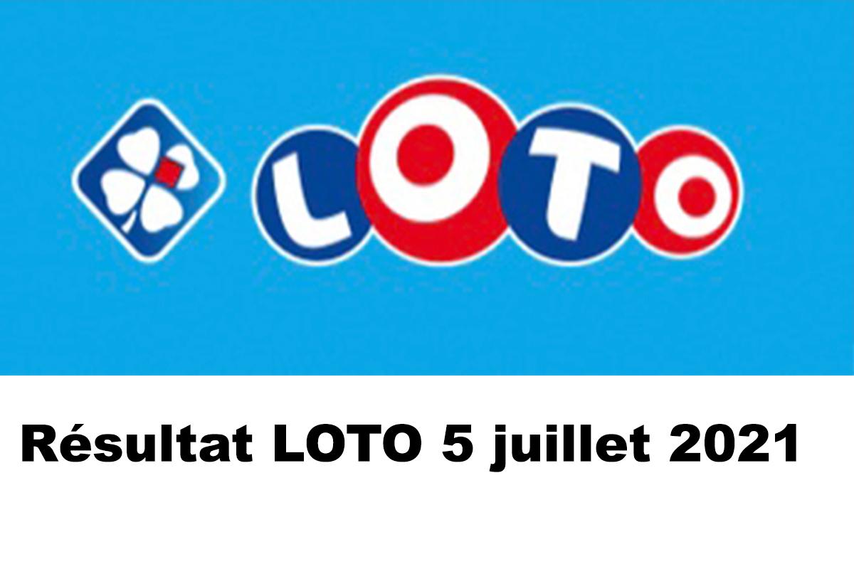 Resultat LOTO 5 juillet 2021 joker+ et codes loto gagnant