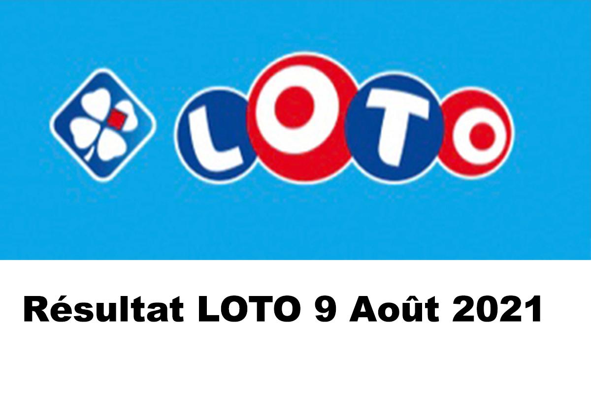 Resultat LOTO 9 Aout 2021 joker+ et codes loto gagnant
