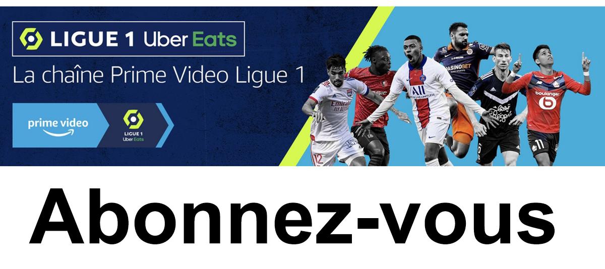 Amazon Prime Ligue 1 abonnement