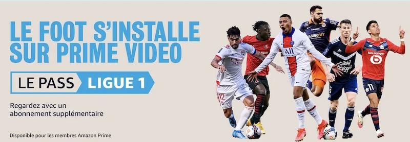 Prime Video Amazon Ligue 1 abonnement