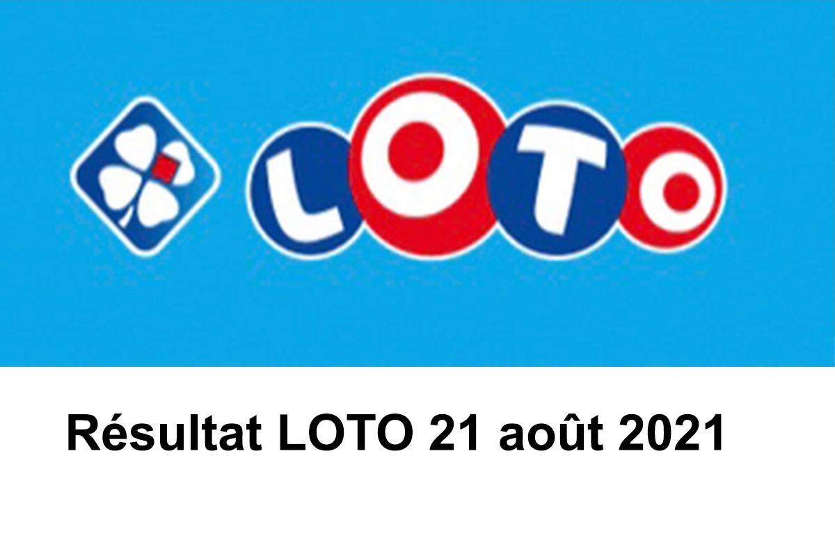 Resultat LOTO 21 Août 2021 joker+ et codes loto gagnant