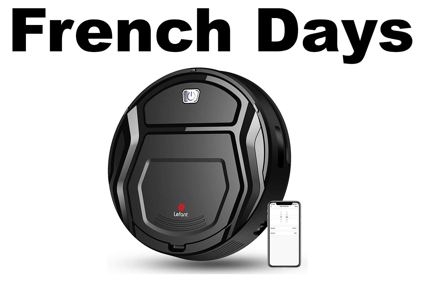 French Days Aspirateur Robot