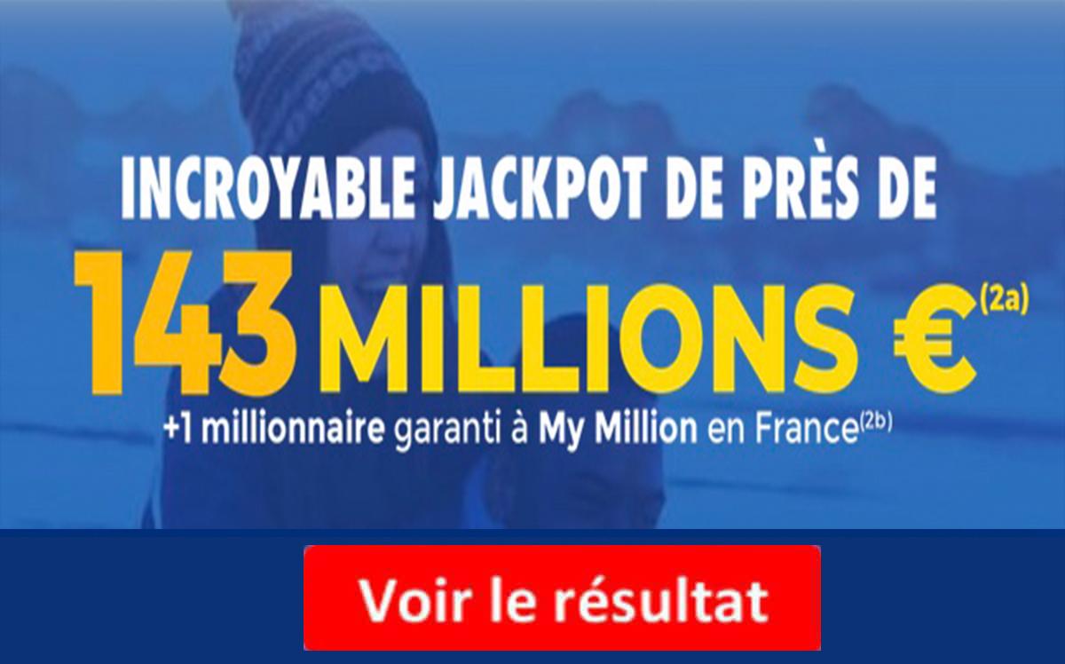 Resultat Euromillion 28 septembre 2021