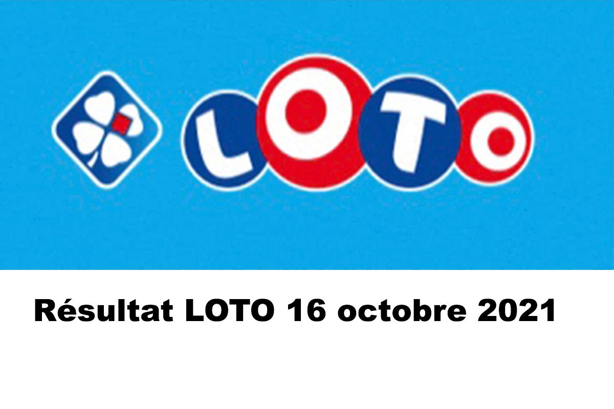 Resultat LOTO 16 Octobre 2021 codes loto gagnant et joker+