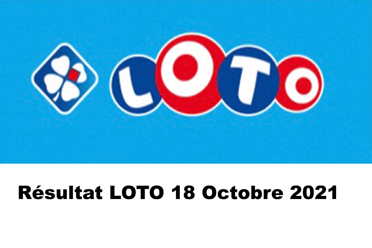 Resultat LOTO 18 Octobre 2021 codes loto gagnant et joker+