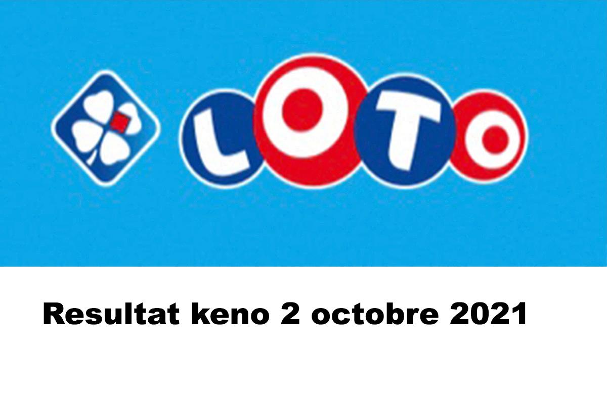 Resultat LOTO 2 octobre 2021